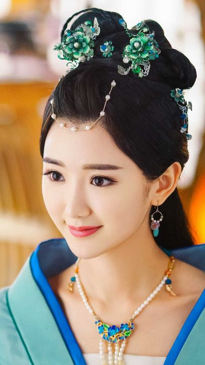 hübsche chinesische Mädchen