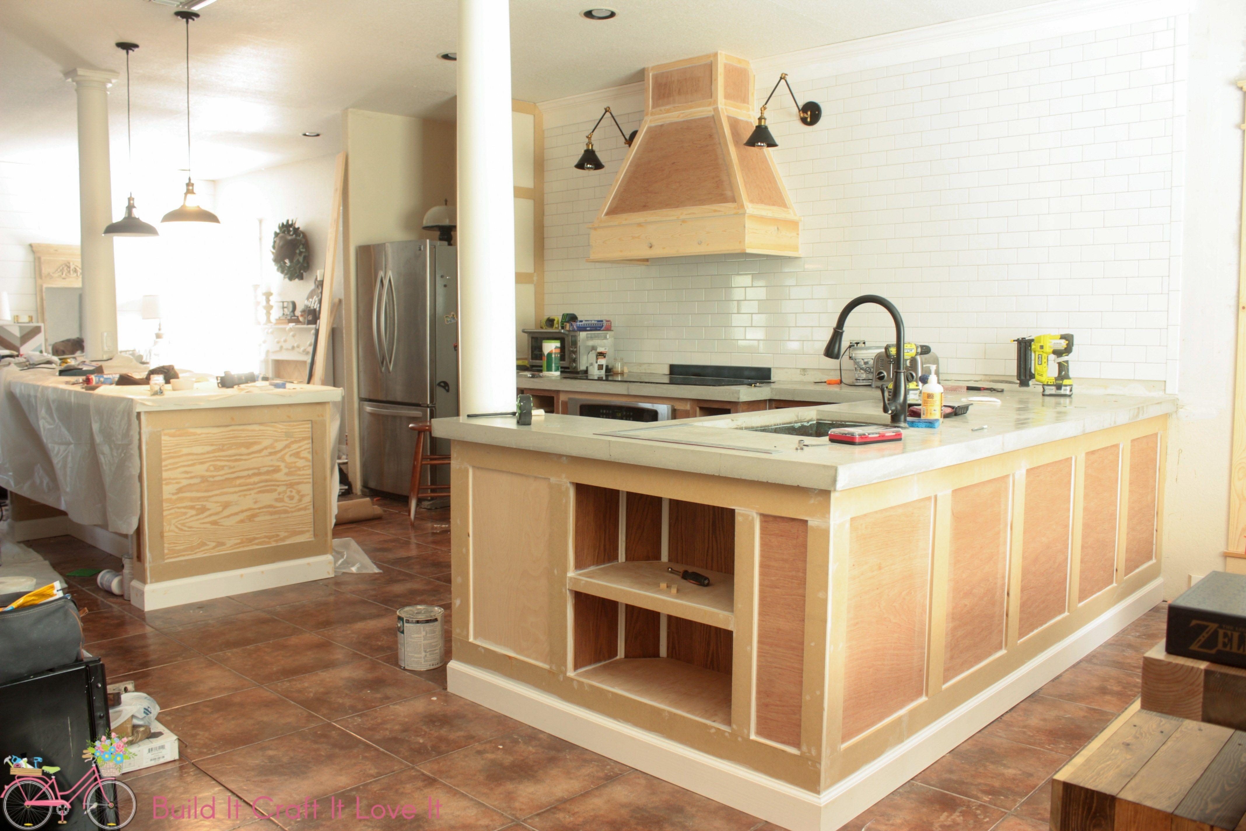 Diy vent hood plans and kitchen update kitchen hood