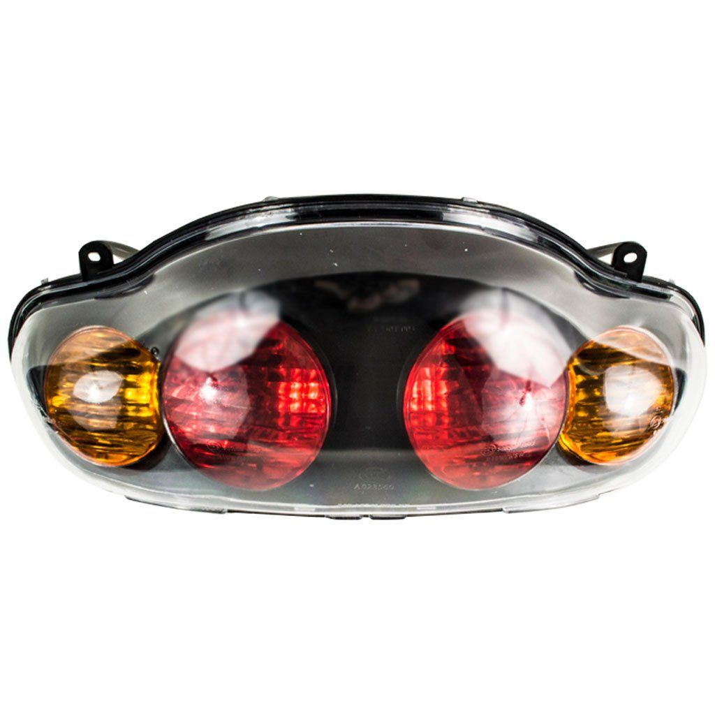 [TBQL_4184]  Rear Lamp Assy GY6 250cc Scooter Lamp details: - Assembly contains 4  lights... 2 brake lights and L & R turn signals - 5 spade male… | 250cc  scooter, 250cc, Scooter | Jonway 250cc Scooter Wiring Harness |  | Pinterest