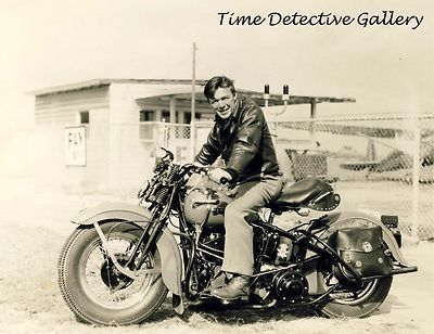 Details about Early Vintage Harley Davidson Motorcycle 8 x ...