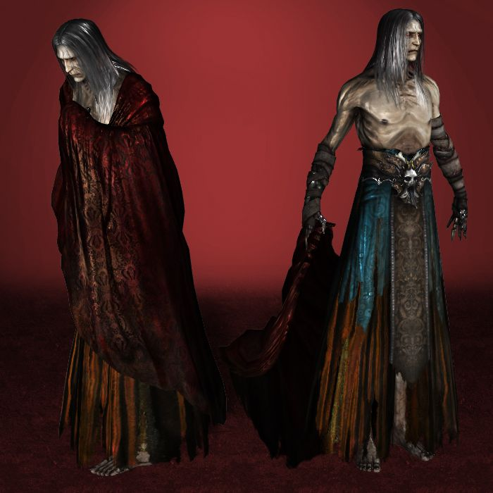 Castlevania Lords of Shadow 2 Old Dracula by ArmachamCorp on deviantART