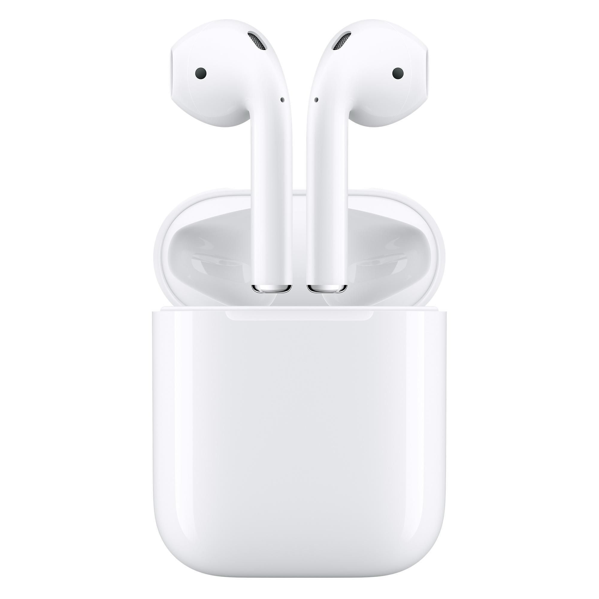 Airpods 1st Gen With Charging Case White Apple Headphone Wireless Earphones Wireless Earbuds