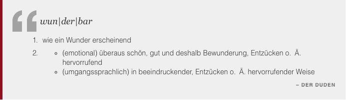 Was Ist Wunderbar Zitat Der Duden Wunderbar Entzucken Schon Quote Zitat Duden Lebewunderbar Zurich Switzerland Duden Gestalten Technik