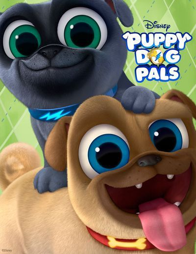 Puppy Dog Pals Coming To Disney Junior Puppy Birthday Puppy