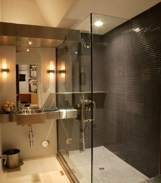 Modern Bathroom // Houzz.com glass shower (With images ...