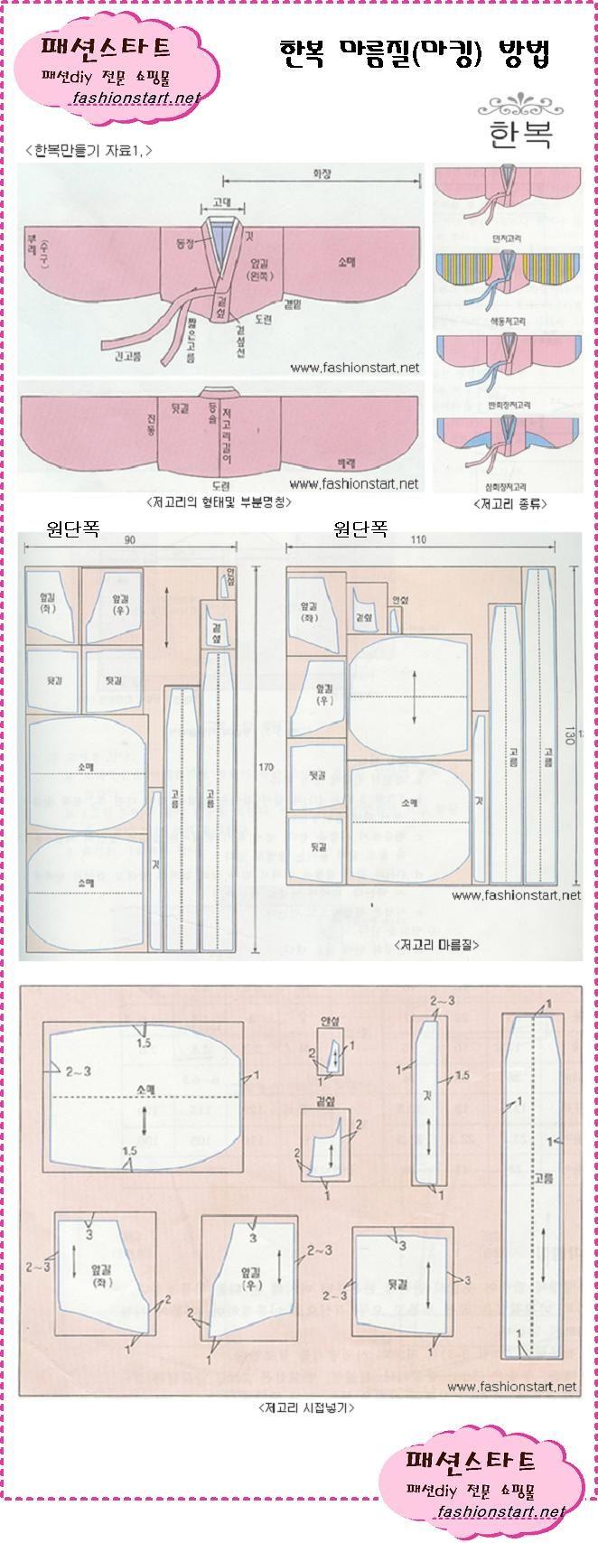Daum 블로그 - 이미지 원본보기 | 한복 | Pinterest | Nähen