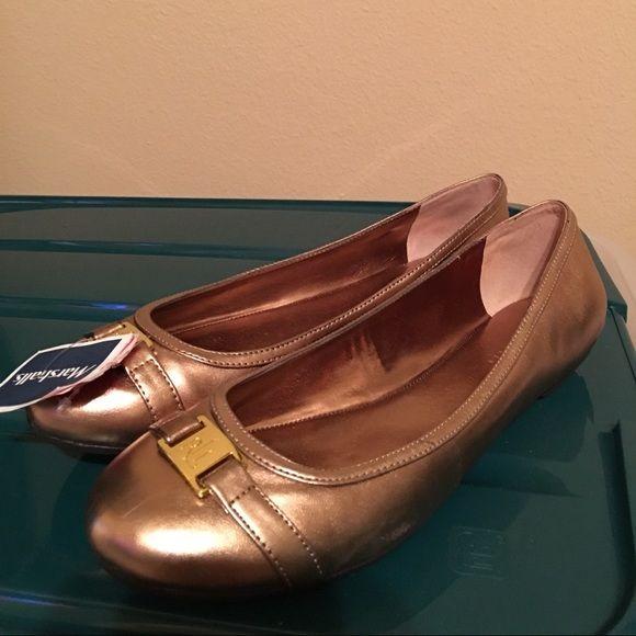 Ralph Lauren flats Ralph Lauren flats in bronze Ralph Lauren Shoes Flats & Loafers