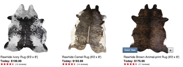Home Decor, Home Accents, Faux Cowhide solutions! Screen Shot 2013-07-24 at 8.50.53 PM