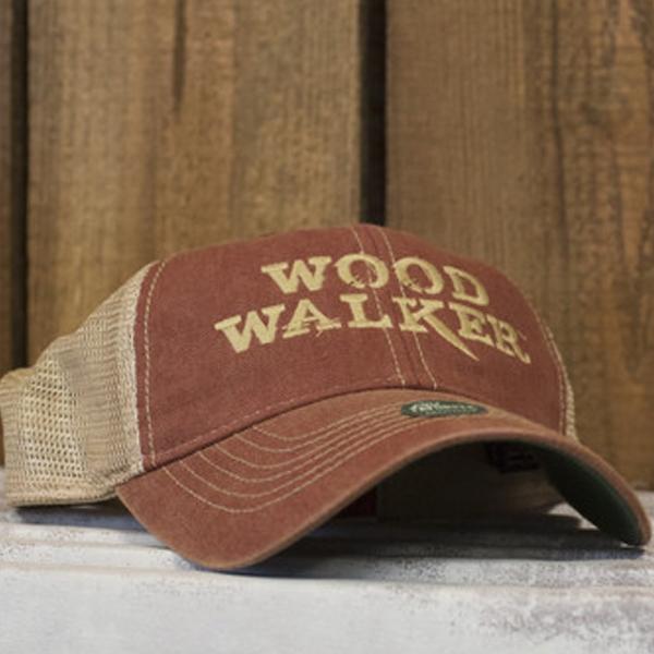 Woodwalker Trucker Cap (Cardinal)