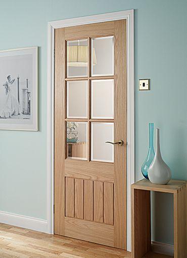 Mexicana Oak Glazed Oak Internal Doors Light Doors Magnet