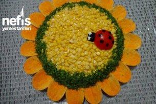 Ayçiçek Salatası Yapımı Tarifi