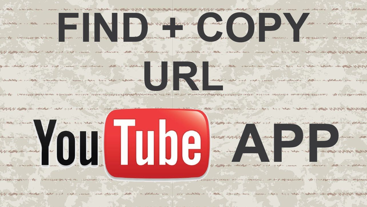How To Find And Copy Url On Youtube Mobile App Youtube App