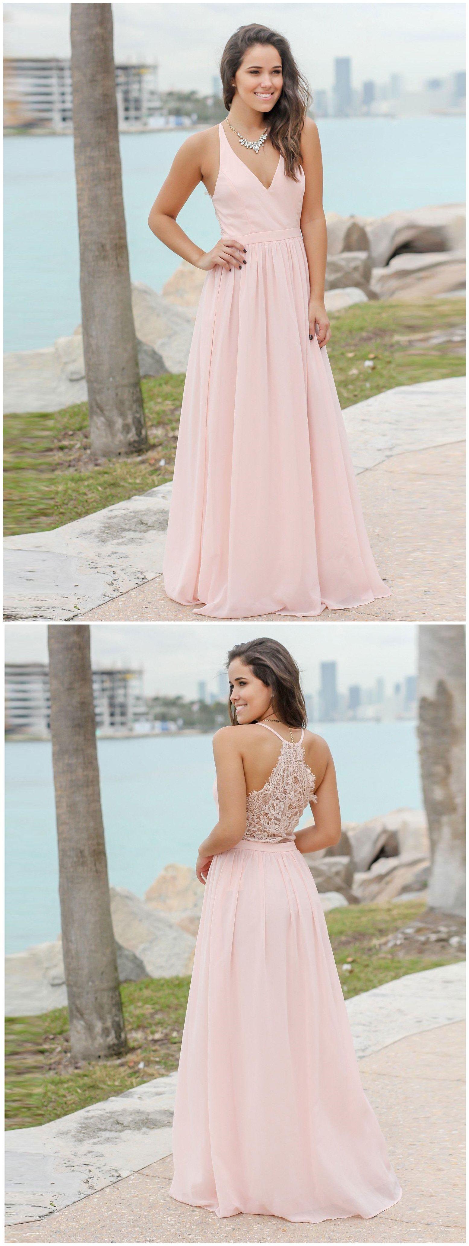 Long formal maternity dresses see through back simple blush