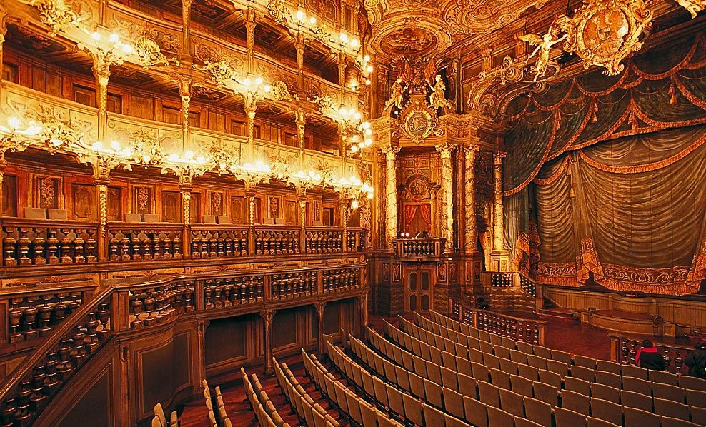 Bavaria Southern Germany Unesco Site Opera House Bayreuth Opera House Architecture Opera House Bayreuth