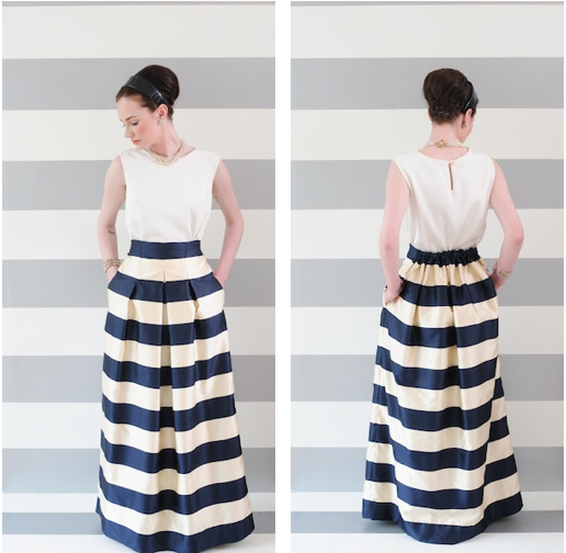 Striped long skirt! LOVE | fashion | Pinterest | Best Striped ...