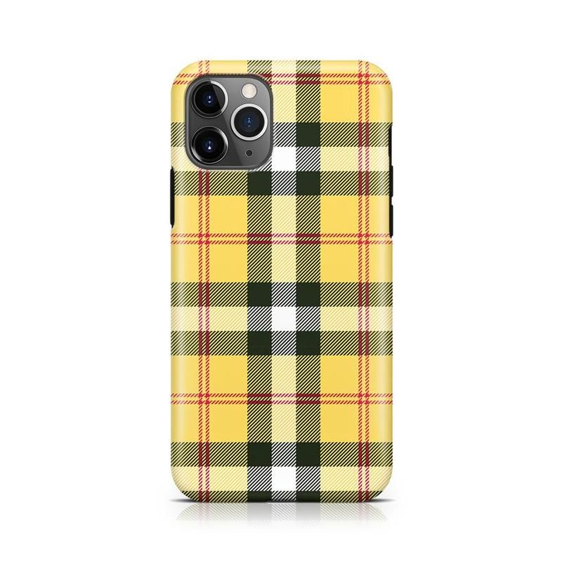 As if yellow plaid iphone case in 2020 iphone cases