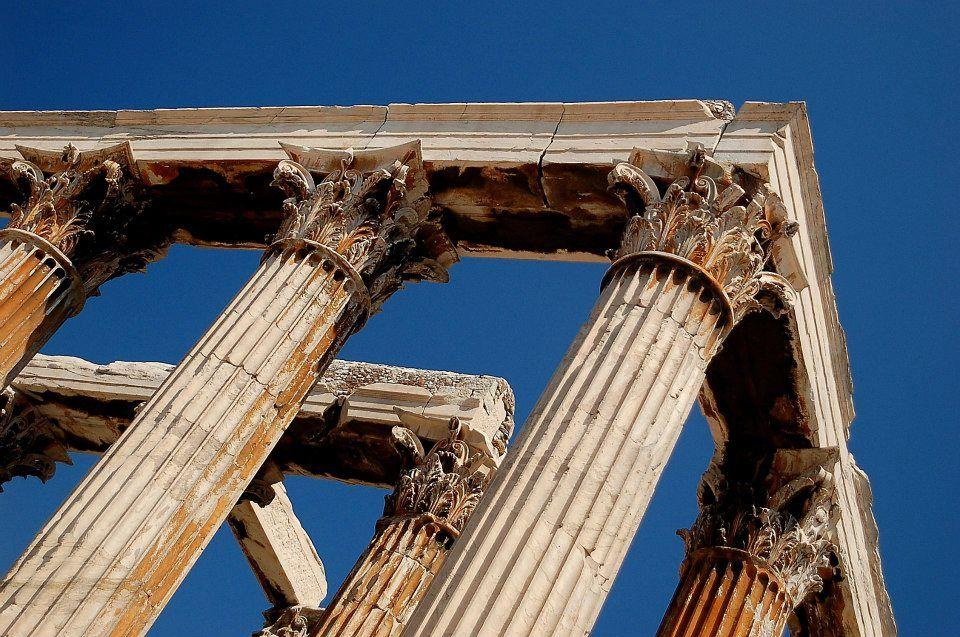 Pilares del templo de Zeus.