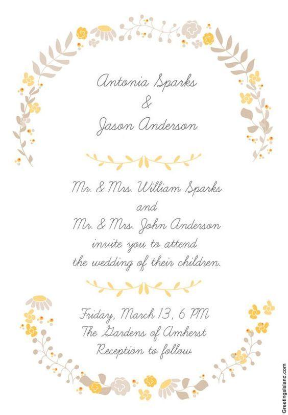 10 invitaciones de boda para imprimir vintage y¡¡gratis!! | hola