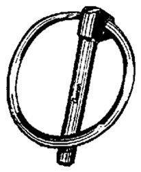 "10 1/4"" O.D. X 2-1/8"" Long Lynch Pins W/Rings by Clipsandfasteners.com Inc. $11.99. Lynch PinsZinc PlatedPin Size:1/4"" O.D. x 2-1/8"" LongRing I.D.: 1-5/8""Ring O.D.: 1-7/8""10 Per Package"
