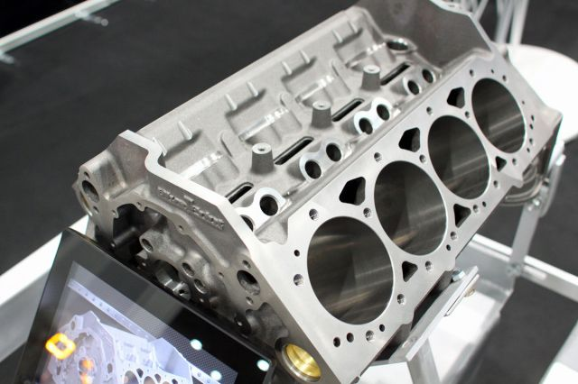 Sema show 2014 blueprint engines debuts sbc block shows ls3 heads engine malvernweather Image collections