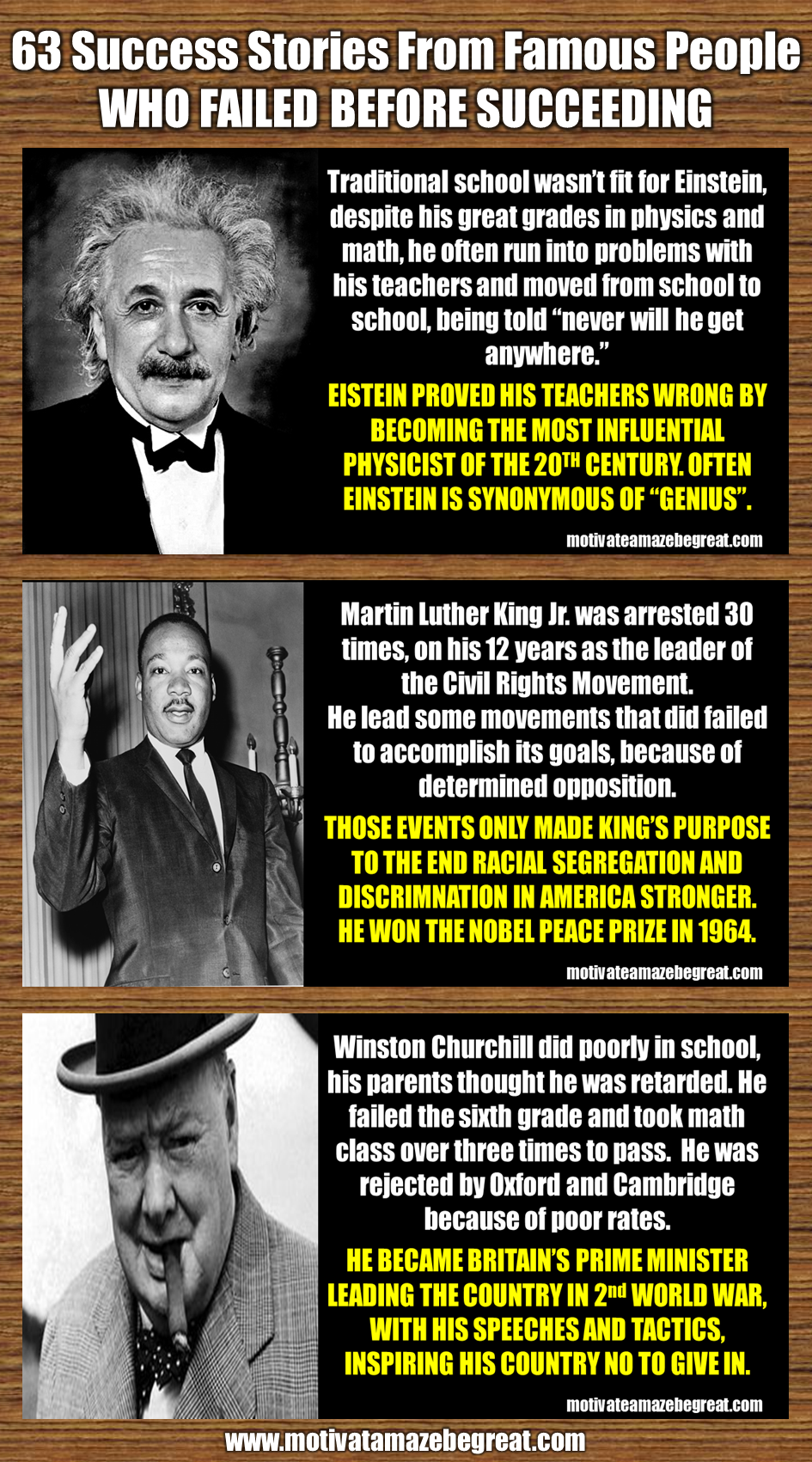 63 Success Stories From Famous People Who Failed Before Succeeding