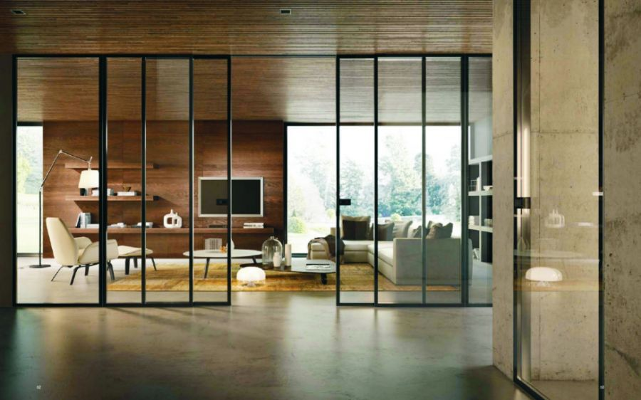 Found images for the query steel door with glazing …