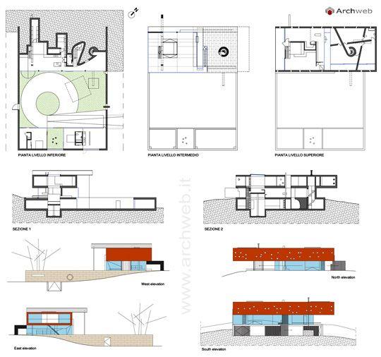 Rem Koolhaas Maison Bordeaux Floor Plan #architecture #Koolhaas #OMA - plan architecturale de maison