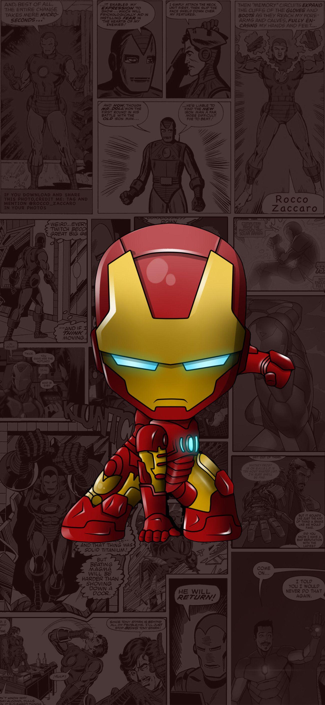 Wallpaper Iphone Xs Max 50 Marvel Wallpaper Hd Iron Man Cartoon Superhero Wallpaper