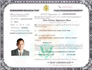 Use The Form N Known As The Naturalization Certificate