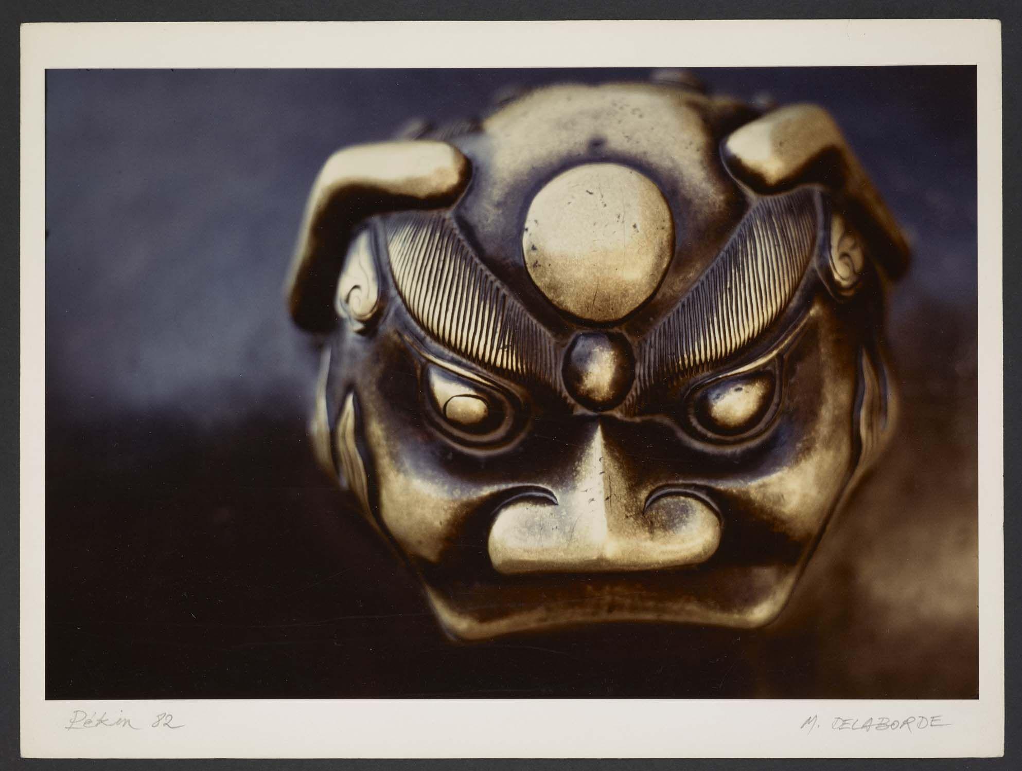 Michel Delaborde, Pékin, (détail de sculpture) 1982. © Ministère de la culture (France), Médiathèque de l'architecture et du patrimoine, Diffusion RMN-GP