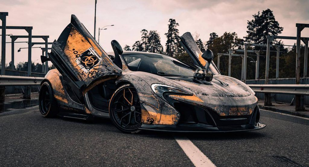 Mclaren 650s By Liberty Walk Literally Breathes The Radioactive