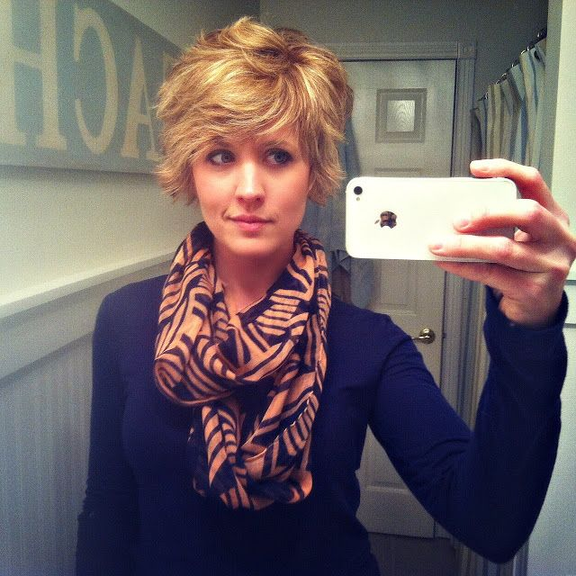 Shaggy Pixie Cut. Love it, but I could never pull it off. Especially with how curly my hair is.