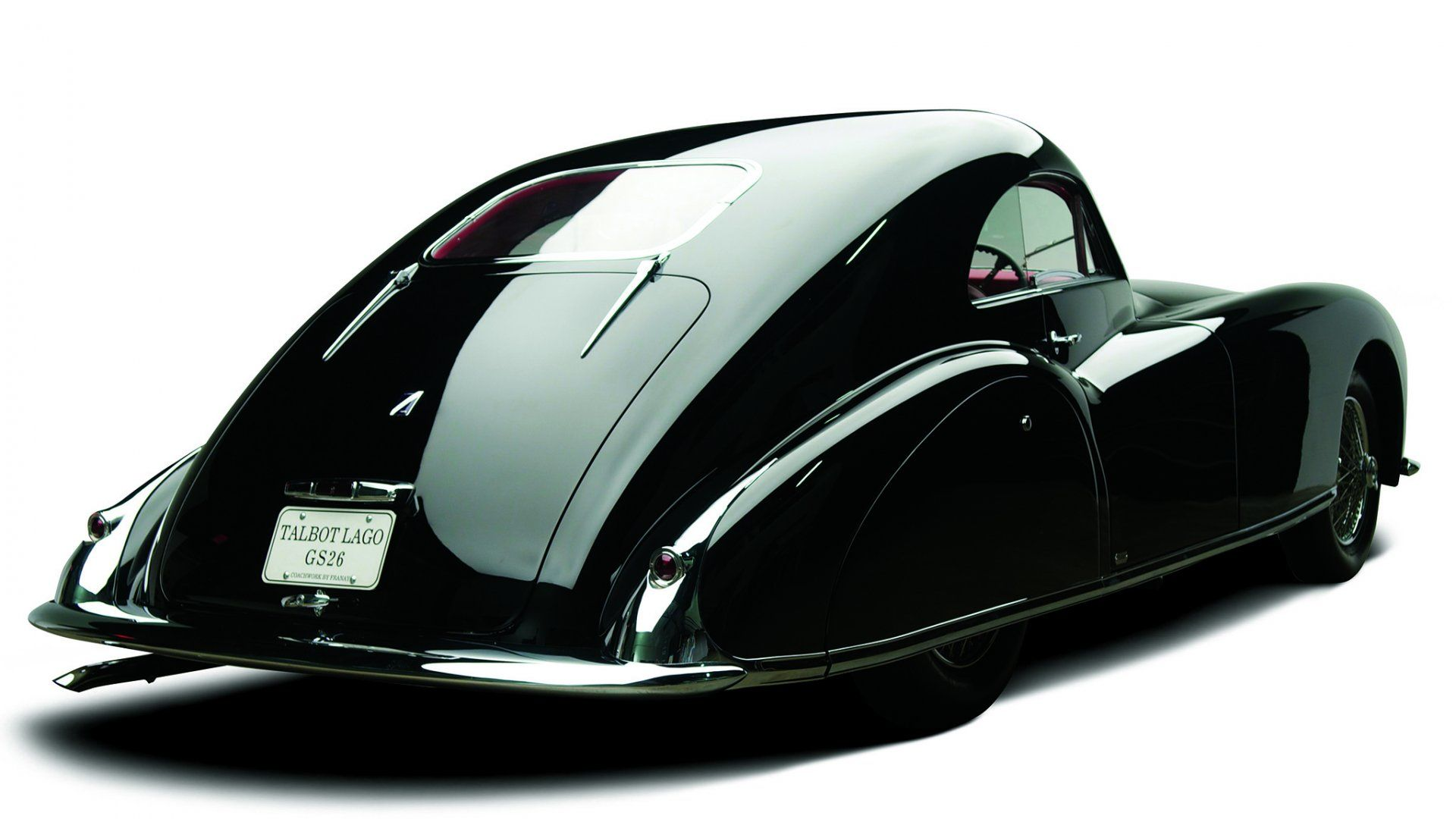 1947, Talbot Lago T26 Grand Sport, Coupe Franay.