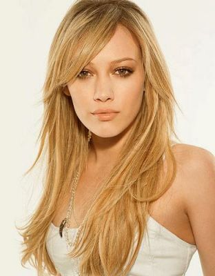 Frisuren damen blond lang