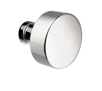 Round Brass Modern Door Knob by Emtek | Interior door knobs, Door ...