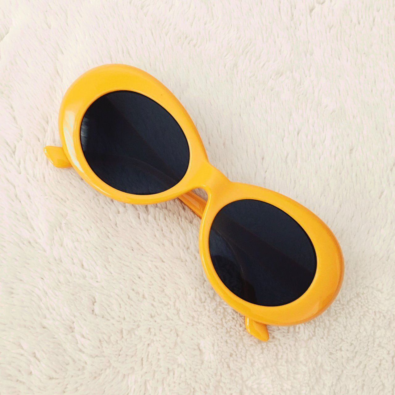4e37406d4a Clout goggles. In golden yellow 🏁🔥 ONE LEFT! Brand NEW. UV protective.  Perfect for all your vintage looks! Similar to the acne studios sunglasses.