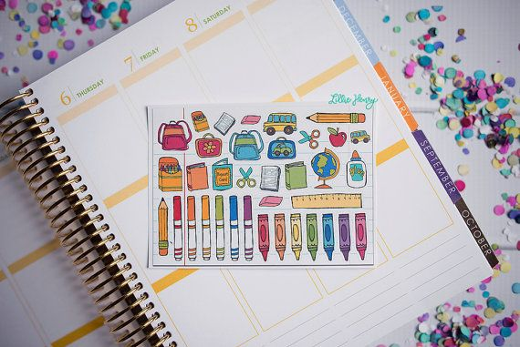 GLOSSY Lillie Henry School Doodles Mini Sampler by LillieHenry