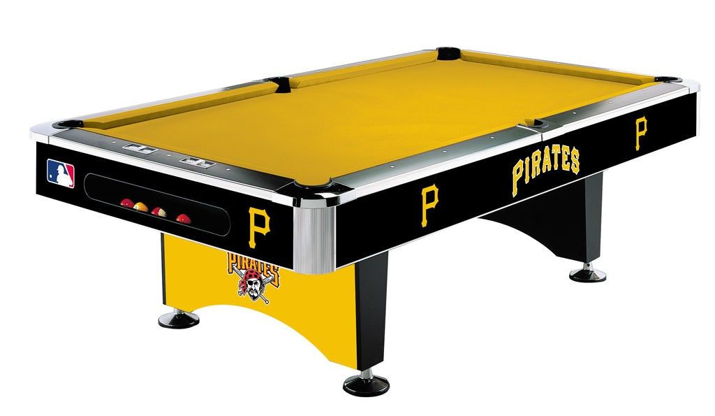 Pittsburgh Pirates Pool Table