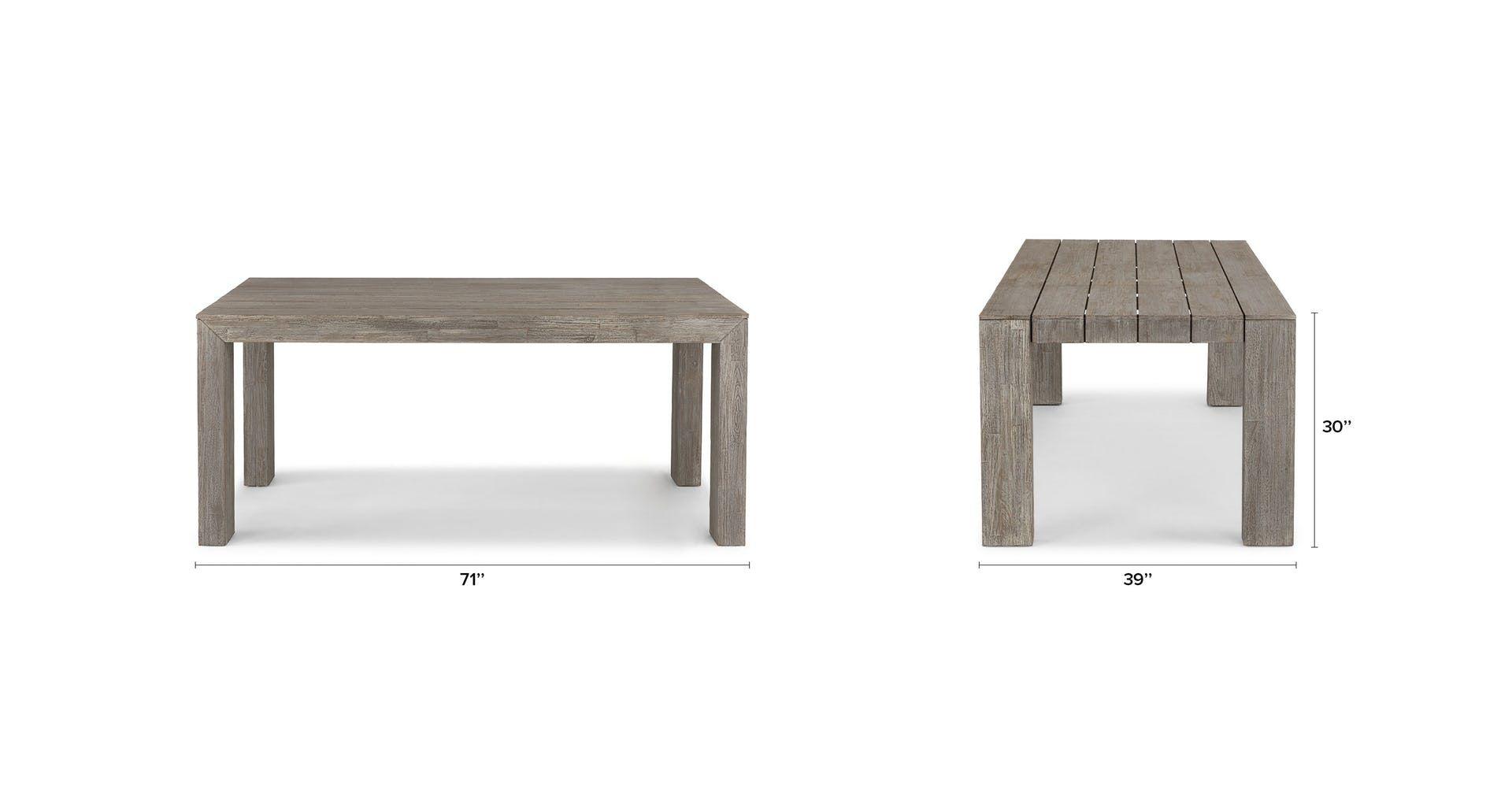 Atica Dining Table For 6 Dining Table Dining Table Decor Modern