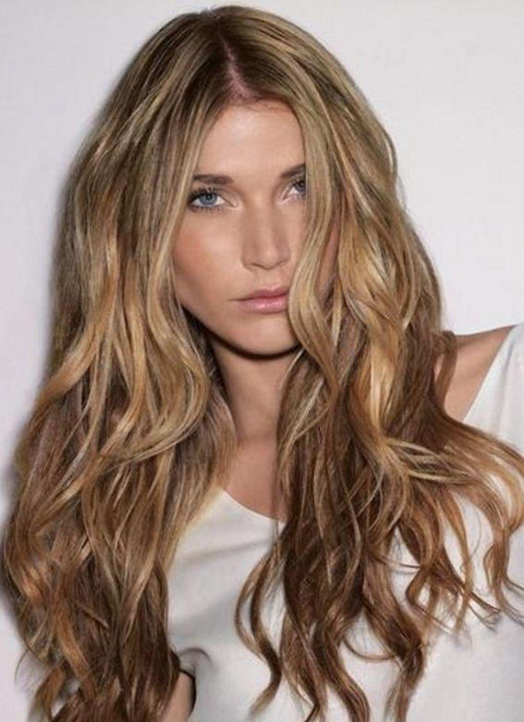 Hair Highlighting With Medium Natural Brown Cool Light Brown Hair