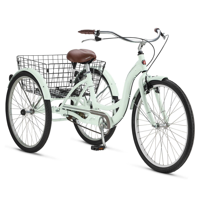 Brand New 24 Adult Tricycle Bicycle 6 Speed Trike 3 Wheels Black