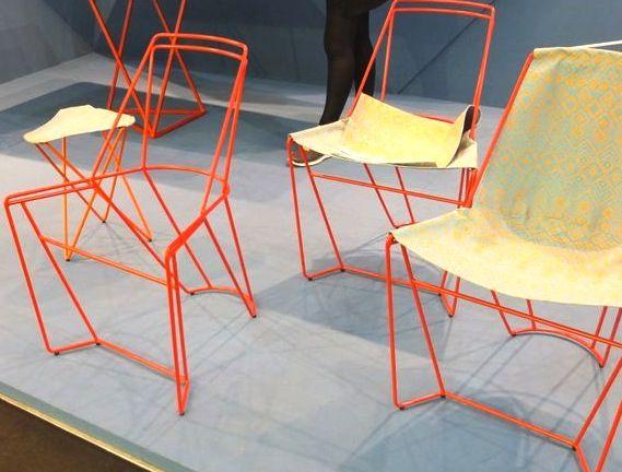 Delightful Wire Chair By Plato