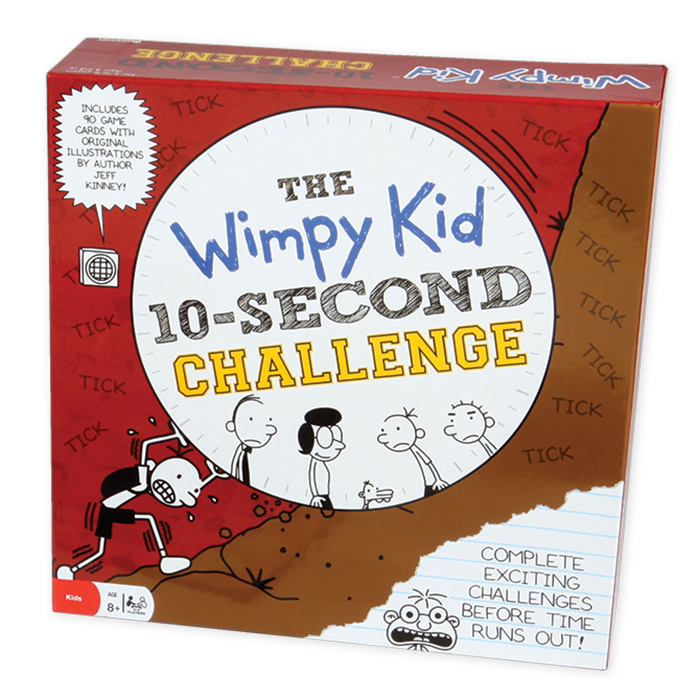 Diary of a Wimpy Kid 10Second Challenge Game, Red