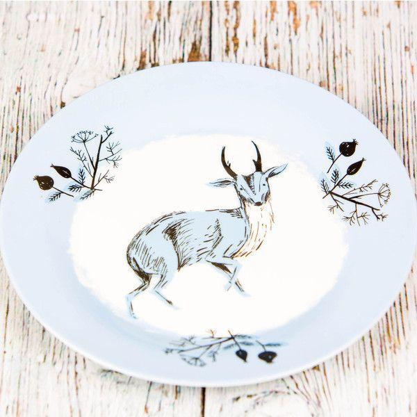 woodland dinner plates nature inspired kitchen plates uk online