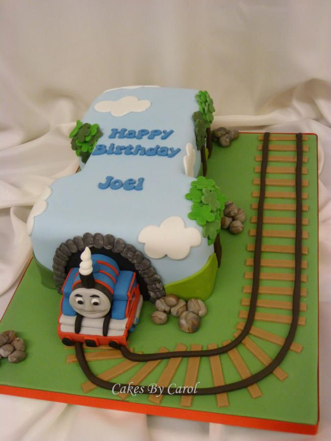 Cake Decor Thomas : Thomas The Tank Engine No 1 Cakes & Cake Decorating ...