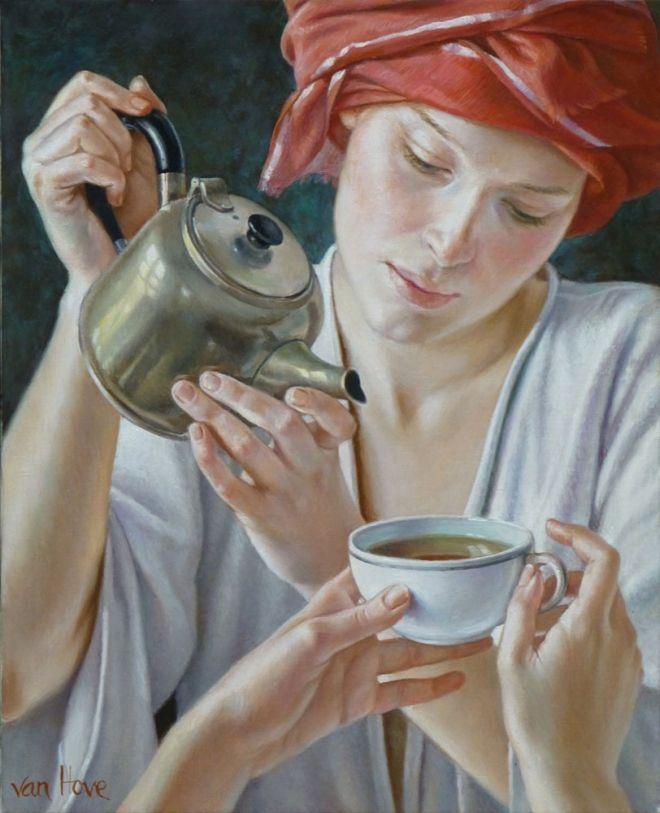 20 Beautiful Oil paintings of Women by Francine Van Hove ...