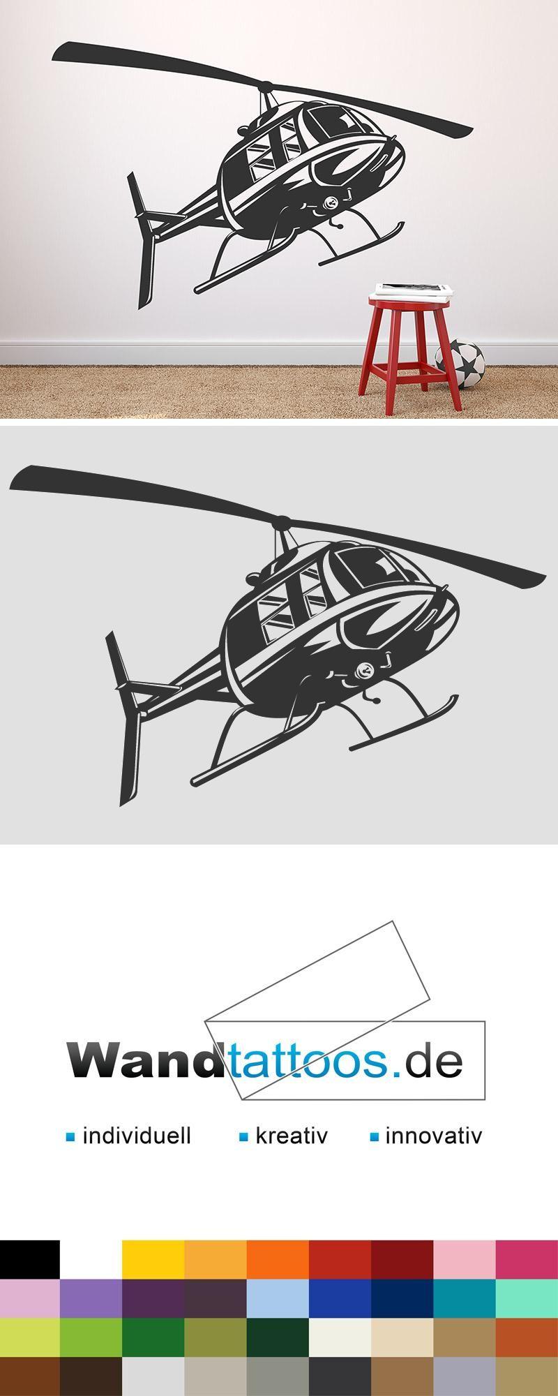 Eitelkeit Piraten Wandtattoo Galerie Von Helikopter Als Idee Zur Individuellen Wandgestaltung. Einfach