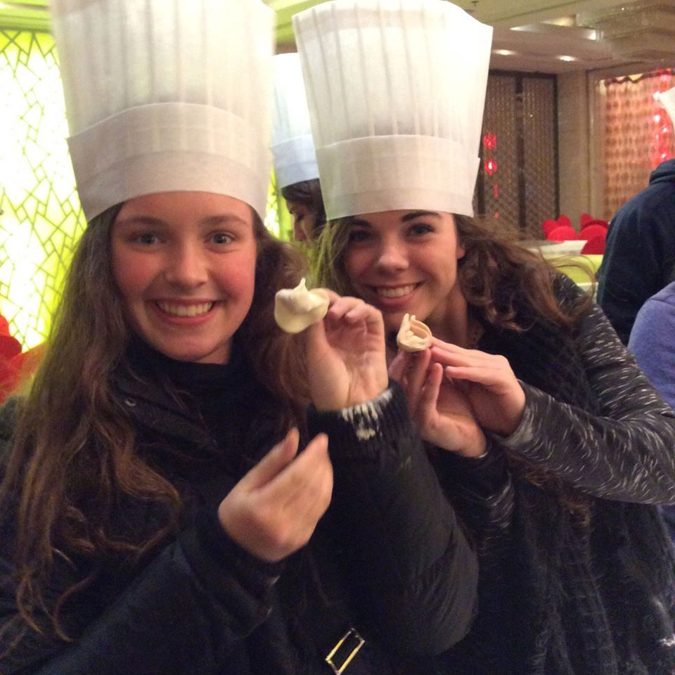 Educational experience in China, learn how to make Chinese dumplings