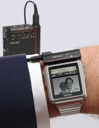 SEIKO T001 (1982) The mother of all Smart Watches