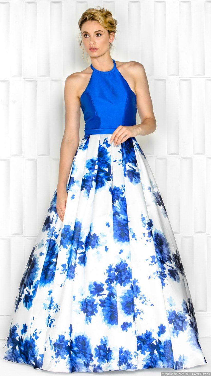 f1273598c0 50 vestidos azules de fiesta con los que brillarás como invitada  beautiful   love